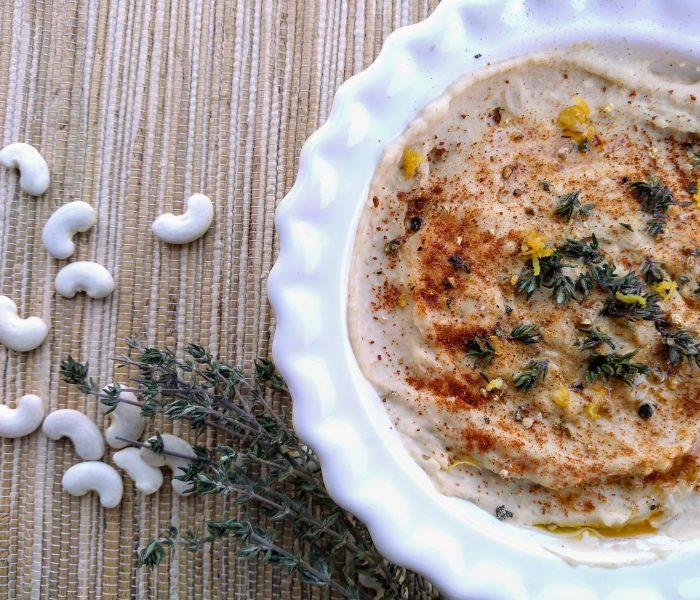 Hummus de habas blancas