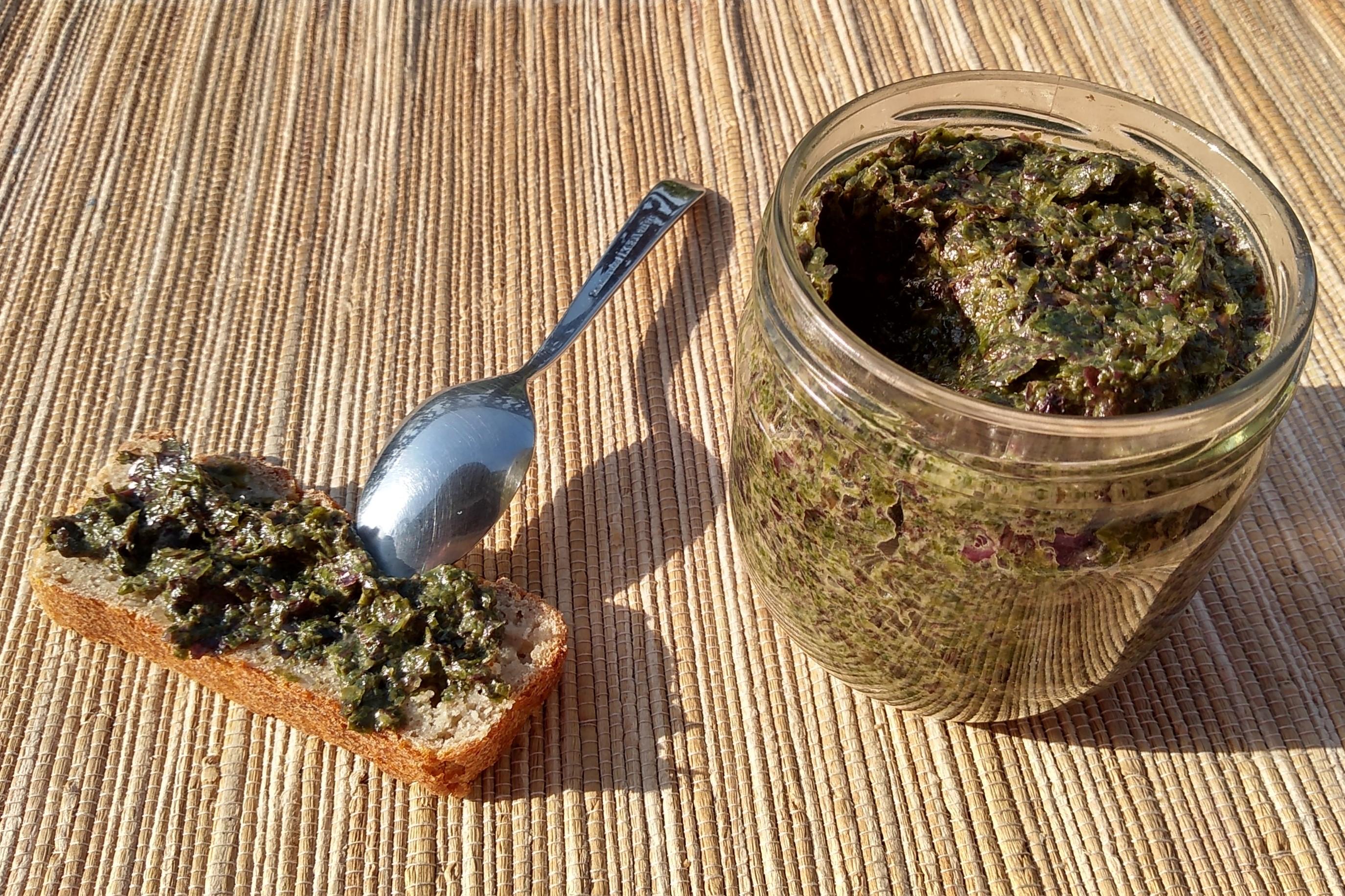 Tartar de algas
