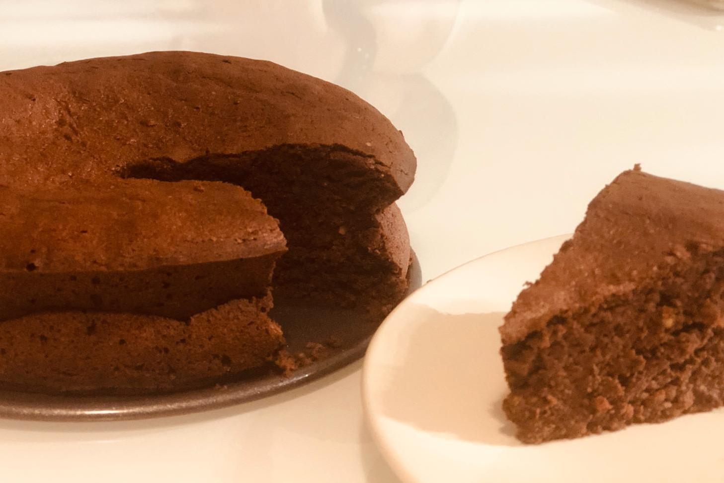 Gâteau au chocolat et aux amandes, sans gluten