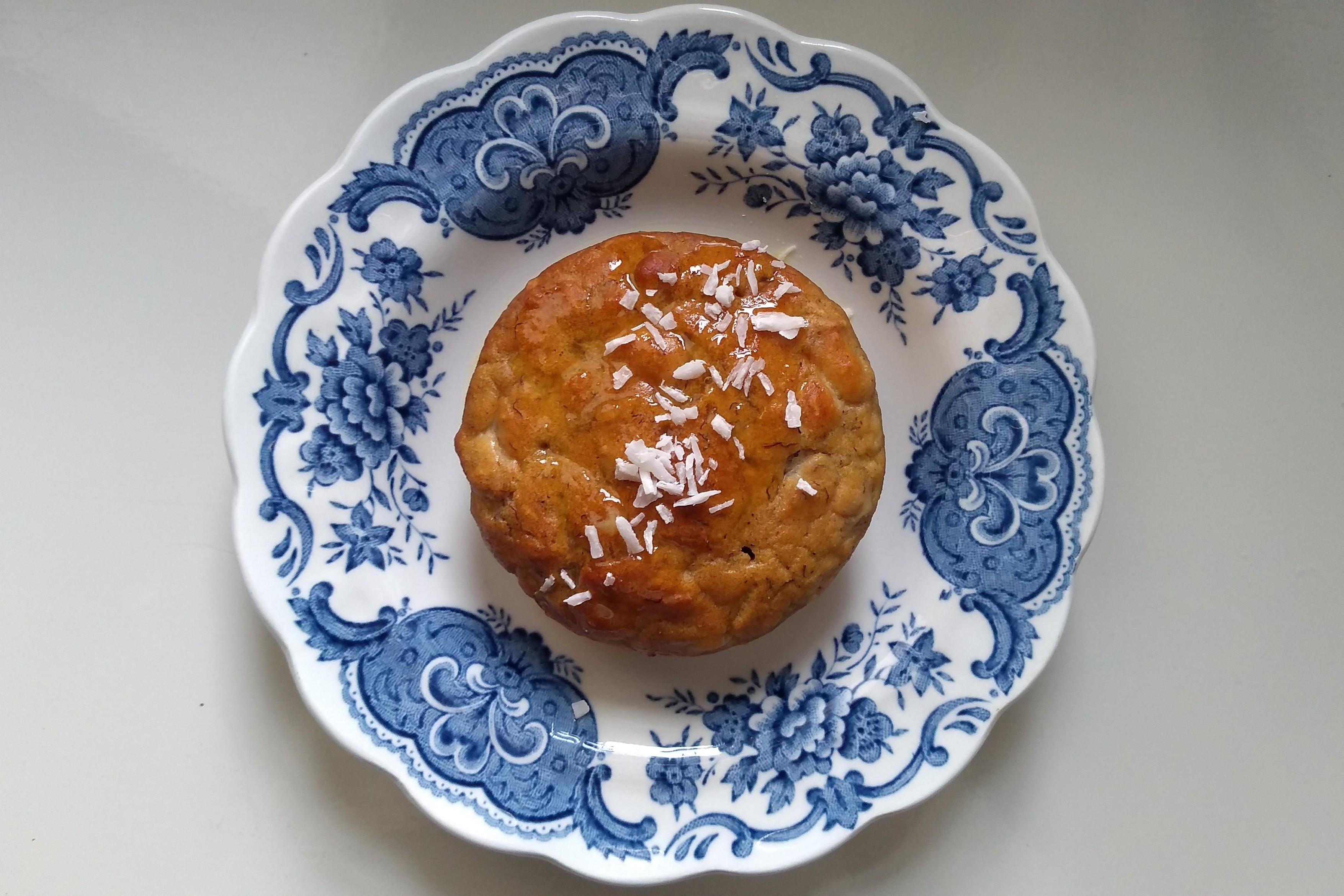 Muffins de naranja, con lo justo de azúcar añadido